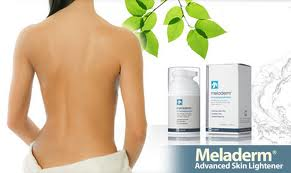 Meladerm skin lightener